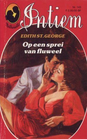 Intiem 143 Edith St. George – Op een sprei van fluweel