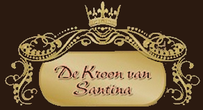 De kroon van Santina logo