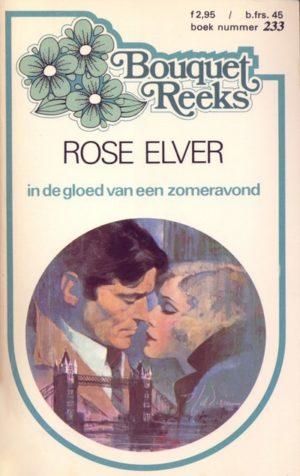 Bouquet 233 Rose Elver - In de gloed van een zomeravond