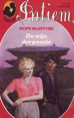 Intiem 147 Hope McIntyre – De wijn der passie