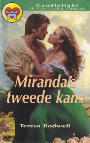 Teresa Bodwell – Miranda's tweede kans (Candlelight hr. 607)
